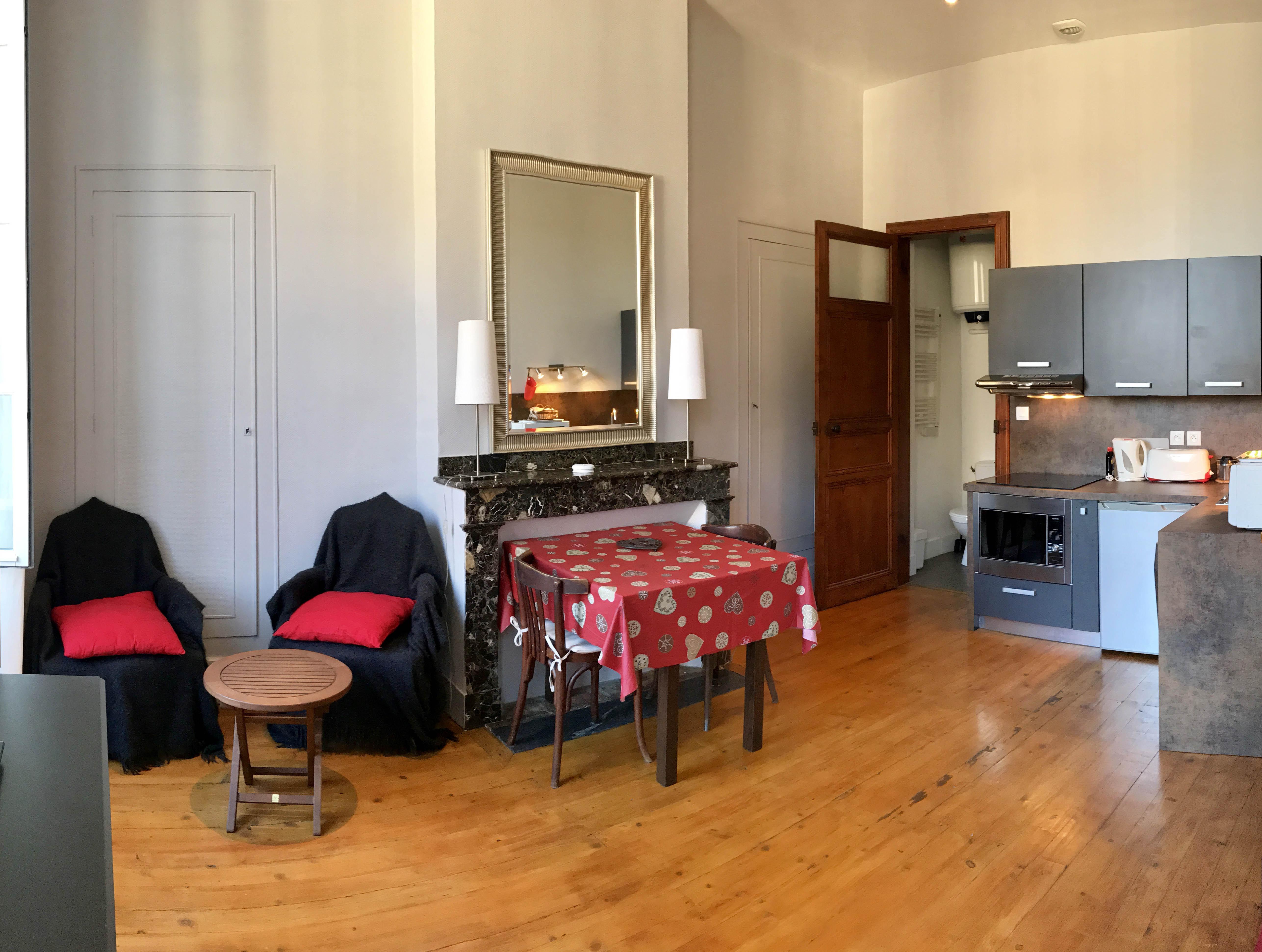 Studio pour 2 personnes